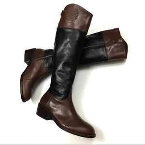 Vince Camuto Leather Casual Riding Boots